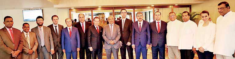 Members of the Sri Lanka- Turkey Parliamentary Friendship ...