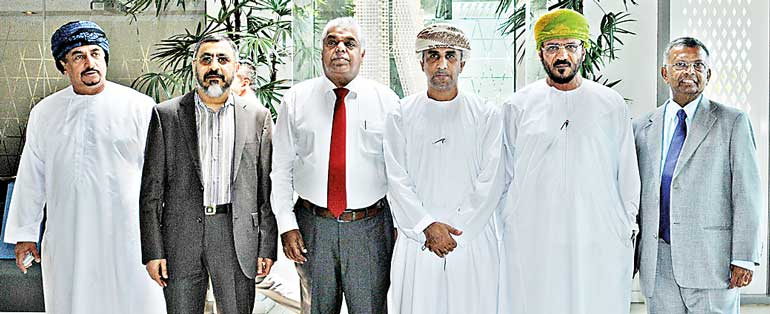 Business delegation from Oman visits Altair site in Colombo | Daily FT