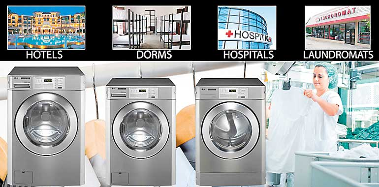 LG introduces 15 kg commercial washing machine at Abans