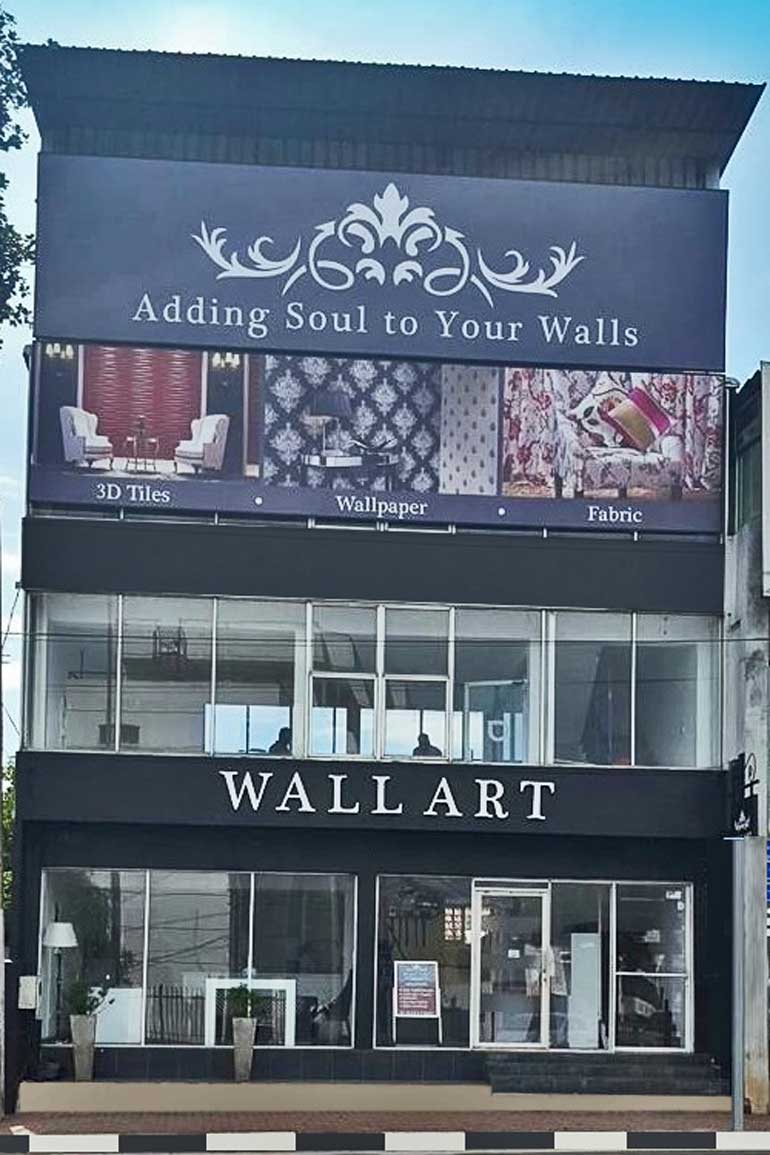 Wall art celebrates 4th anniversary with launch of new for Local wallpaper shops
