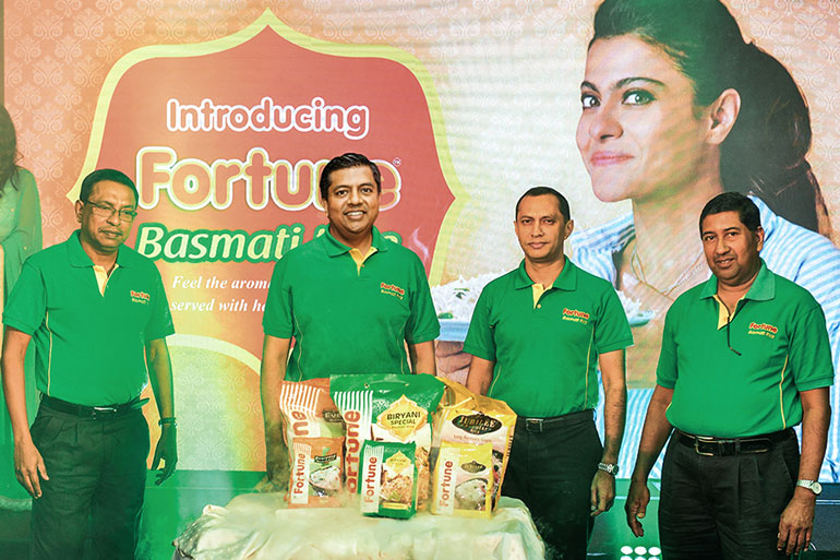 Fortune Basmati Rice launched in Sri Lanka   Daily FT