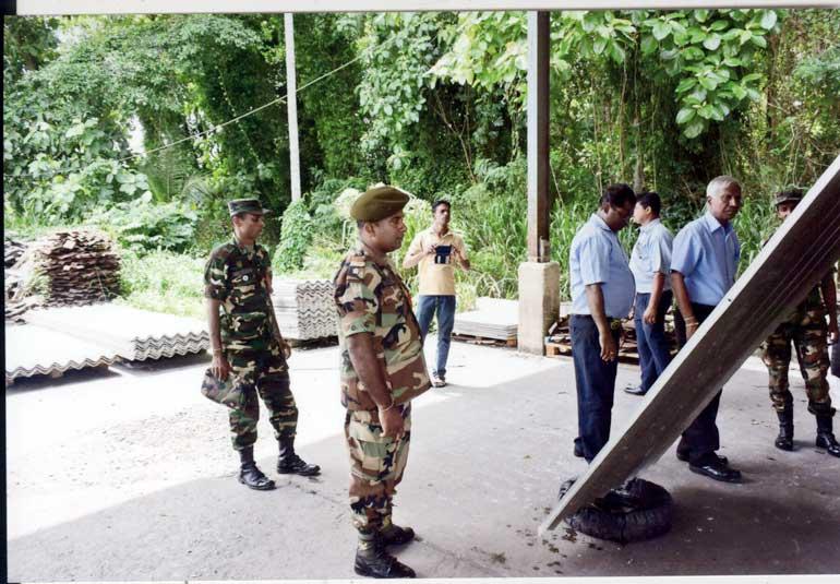 Sri Ramco Lanka Donates Chrysotile Roofing Sheets To Sri
