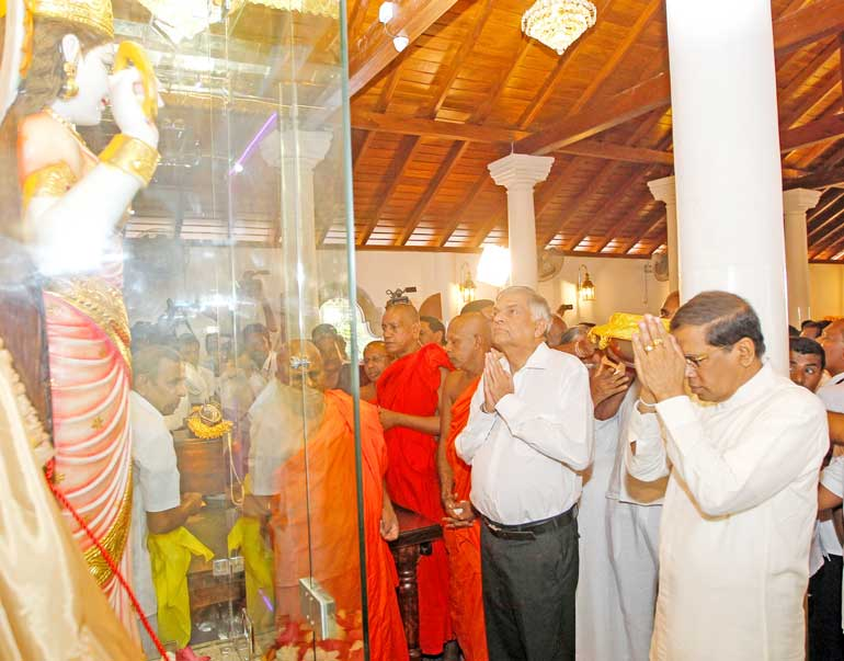 President-opens-people's-ancient-pilgrimage-Navagamuwa-Paththini-Devalaya