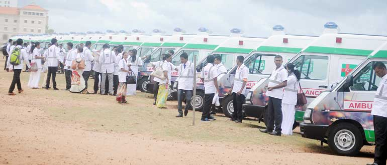A-section-of-the-Indian-assisted-ambulance-service-fleet-at-the-launch-event-on-29-July