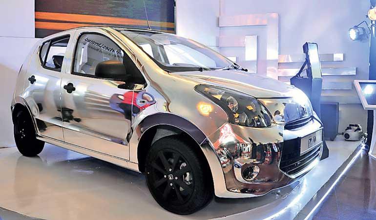 Unimo Enterprises launches Z100, 1000 cc Compact car | Daily FT