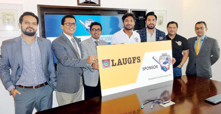LAUGFS Gas Bangladesh partners with Dhaka Dynamites for