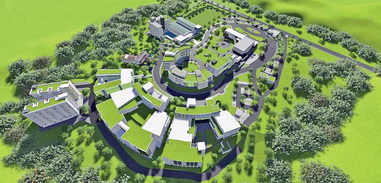 Ciob Awards Green Mark Certification To South Asia S First Ever Green University Daily Ft