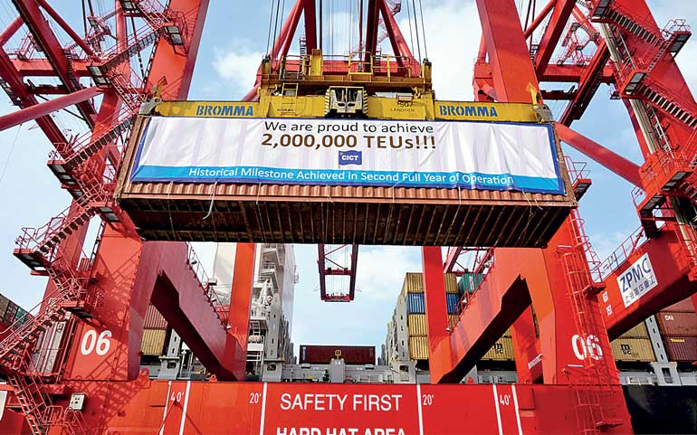 CICT surpasses 2 m TEU milestone in second full year of ...