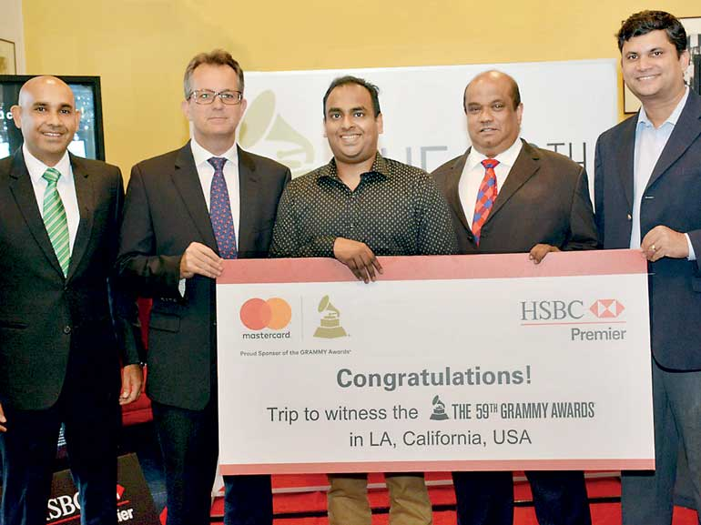 HSBC Premier Customers prepare for star-studded night at