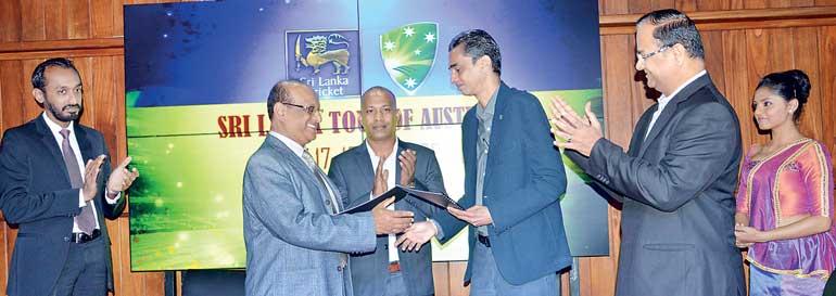 Sri Lanka-Australia T20 cricket series Live on ITN | Daily FT