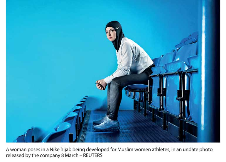 Nike To Launch Hightech Hijab For Female Muslim Athletes FT Online - Nike is going to launch a hijab collection developed together with muslim athletes