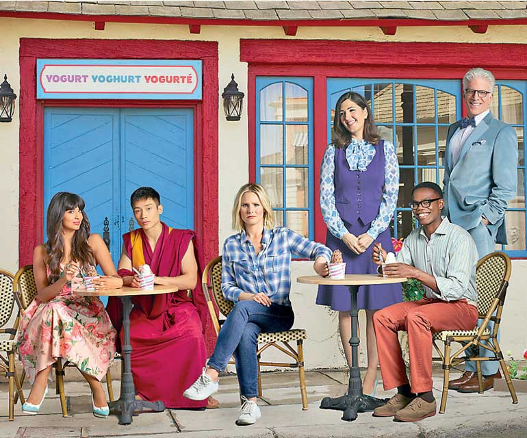 Hit new comedy 'The good place' now on iflix   Daily FT