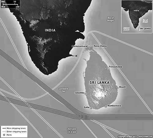 Sri-Lanka's-shipping-lanes