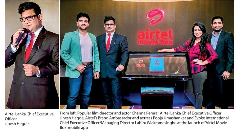 Movie experience on smartphones with 'Airtel Movie Box' for