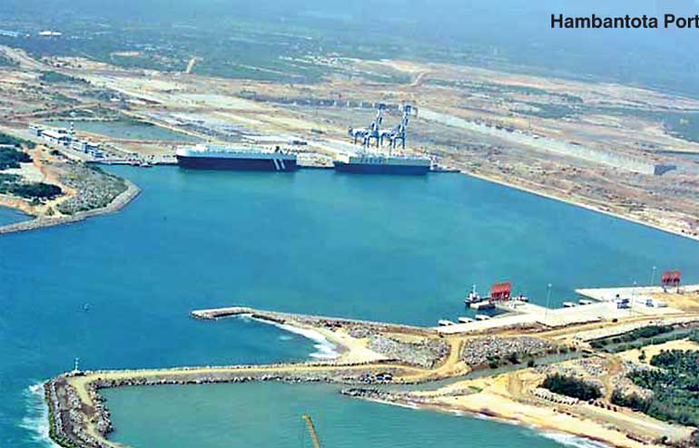 Image result for hambantota port