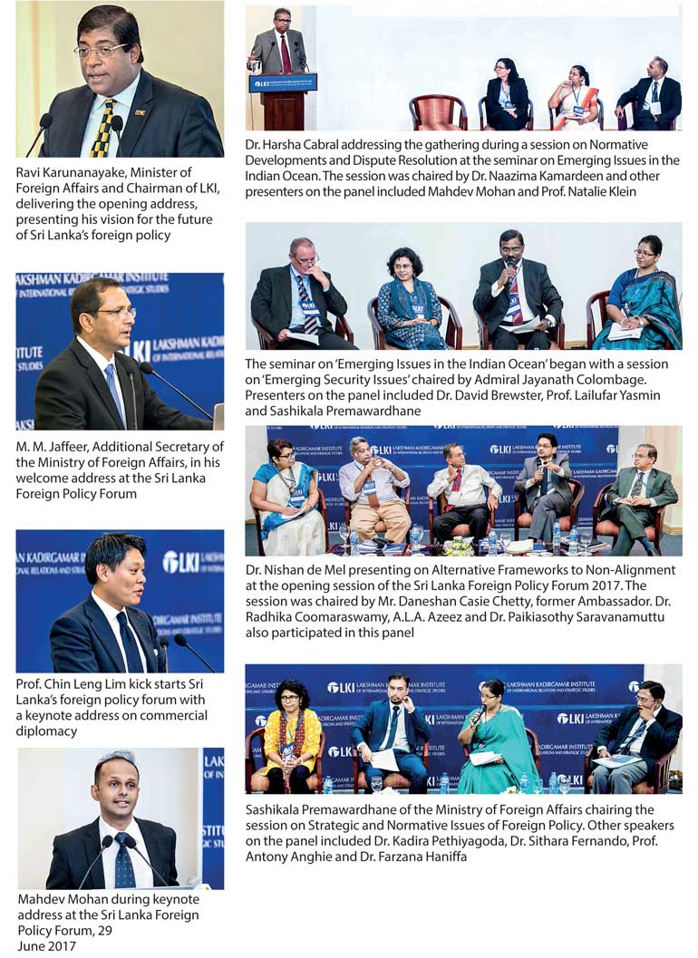 Lakshman Kadirgamar Institute concludes first Foreign Policy