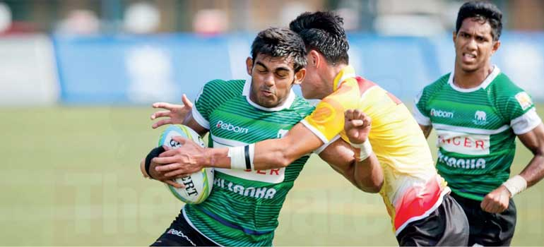 Sri Lanka fly high at Under 20 Asian Rugby 7s