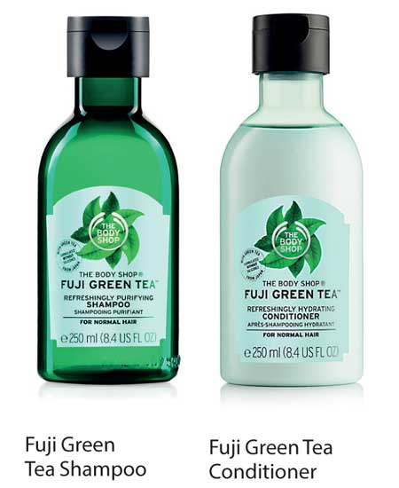 Refreshingly Clean Hair With The Body Shop S Fuji Green